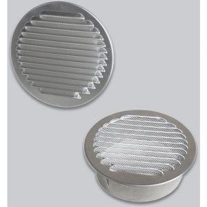Grille d'air ronde en Aluminium | 200 mm - DARCO