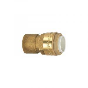 Raccord laiton droit à emboîtement - F 3/4' - Ø 22 mm - Itap-Fit - Itap