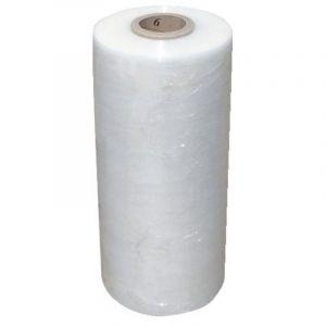 Film polyéthylène étirable manuel transparent, largeur 450 mm, épaisseur 23 microns, longueur 300 m - Transparent - CORDERIE MESNARD
