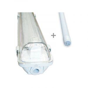 Kit tube led 120cm 4000K + boitier étanche 120 - ECLAIRAGE DESIGN