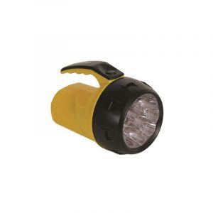 Lampe-torche led puissante - 9 leds - 4 x pile r6 - PEREL
