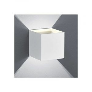 Petite Applique LED Design blanche Up and Down Tramontane - MILLUMINE