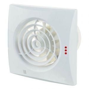 Winflex - Aérateur / Extracteur d'air silencieux 125mm avec timer et detecteur infrarouge Ventilation