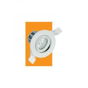 Spot LED orientable Storm Pro - Blanc - 520 lm - 80 mm - IP 20 - ELEC'OPRO