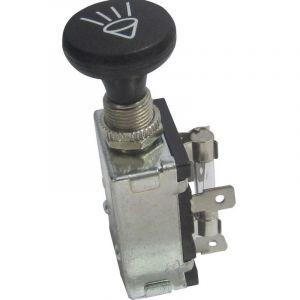 Interrupteur à tirette pour lautomobile TRU COMPONENTS TC-A3-20A-SQ 1587799 12 V/DC 30 A 2 x Off/On/On à accrochage 1 pc(s)