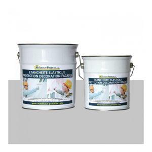 Peinture Etanche & Elastique Pour Protection Façade Gris Perle - 6 Kg Gris perle - MATPRO