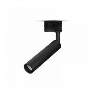 V-tac Pro - Spot Sur Rail LED 3 Allumages Pro 15W Samsung Chip Noir Vt-415 - Blanc Chaud - 3000k - 24 Deg