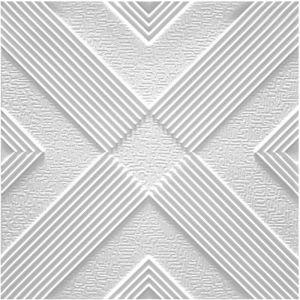Carreaux plafond | EPS | rigide | Marbet | 50x50cm | Malte - MARBET DESIGN