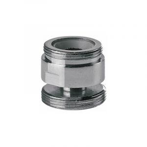 Adaptateur métallique pivotant pour la cuisine de l'eau du robinet robinet aérateur 22mm à 24mm mâle - REMER