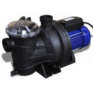 Pompe électrique de piscine 1200 W Bleu HDV32022 - Hommoo