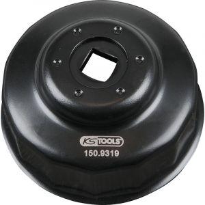 KS TOOLS 150.9319 Cloche pour filtre à huile Ø 64,0 mm / 14 cannelures - KSTOOLS