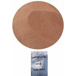 Sac 25 kg Sable Abrasif Garnet Mesh 200A+ pour Sableuse Sablage Aerogommage