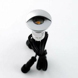 Mini spot LED encastrable 0,3W 12V | Bleu - LECLUBLED