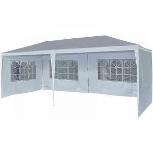"""Tente de réception """"Carolina 6"""" - 5.7 x 2.85 x 2.55 m - Blanc - HABITAT ET JARDIN"""