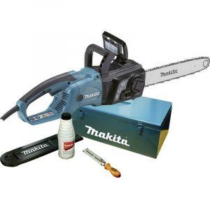 Makita Tronçonneuse électrique 35cm avec accssoires dans un coffret - UC3551AK