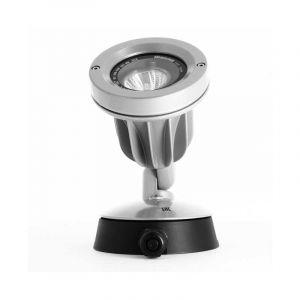 Douille De Fixation Koala Gu10 En Gris Aluminium 43181500 - DISANO