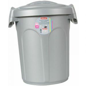 Container en plastique 8L - gris - Zolux - Lot de 10