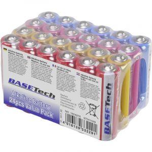 Pile LR06 (AA) alcaline(s) Basetech 1604976 2650 mAh 1.5 V 24 pc(s)