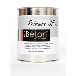 Primaire SF (Supports Fermés, Supports non poreux) | 1 Kg - IBéTON BY CYRIL CLAIRE