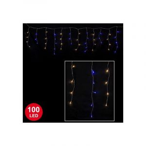 Guirlande Glaçon bicolore 3 mètres 100 LED - OUTILS-ET-NATURE.FR