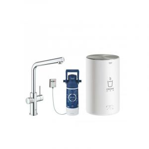 GROHE Red Duo Robinet + Chauffe-eau taille M 30327001 - GROHE Red Duo Robinet + Chauffe-eau taille M, Chromé (30327001)