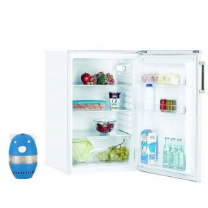 CANDY Réfrigérateur Frigo simple Porte table top Blanc 125L A+ Froid Statique Eclairage LED - Blanc