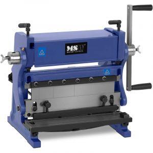 Cintreuse à Rouleaux Machine à Cintrer Manuelle 3-En-1 Avec Matrices 305 X 1 Mm - MSW