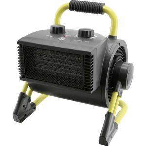 Radiateur de chantier soufflant EMERIO FH-110704.1 FH-110704.1 30 m² noir, jaune 1 pc(s)