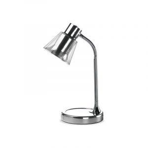 Lampe de Bureau Kaline Argent - Argent - PAN INT. LAMPE DESIGN