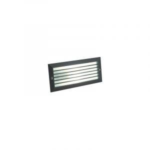 Lampe d'entrée rectangulaire noire 214/06 - SOVIL