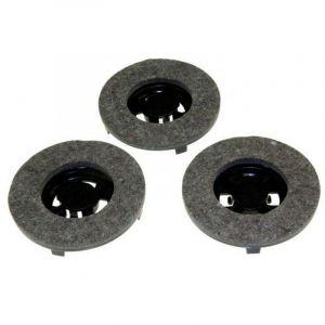 Jeu de 3 disques feutre Chambord Z5 LC500C Simac FL8500 (09502576) Cireuse 47687 HOOVER, DELONGHI, ELECTROLUX, TORNADO, VETRELLA