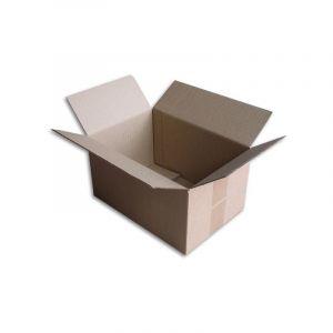 Lot de 100 Boîtes carton (N°34) format 300x200x160 mm - ENVELOPPEBULLE