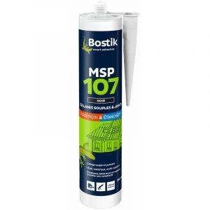 Mastic de fixation MS107 BOSTIK - Noir - 290 ml - 30139561