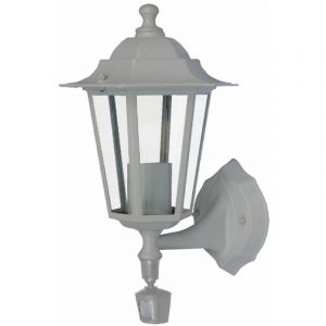 Applique Montante E27 60W Detecteur Blan - I-WATTS OUTDOOR LIGHTING