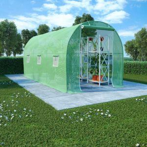 Serre 9 m² 4,5x2x2 m - VIDAXL
