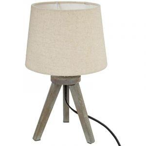 Comparer Trepied Offres Bois Knwx8o0p 33 Chevet Lampe qS5L34RcAj