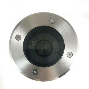 Lot 6 Spots Encastrable de Sol Rond Inox 304 Exterieur IP65 GU10 - EUROPALAMP