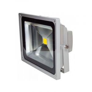 Projecteur LED 50W blanc chaud IP65 extérieur - OHM-EASY LED LIGHTING