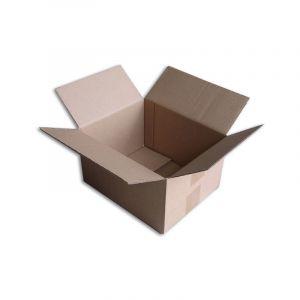Lot de 25 Boîtes carton (N°22) format 250x200x140 mm - ENVELOPPEBULLE