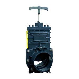 Vanne arrêt guillotine pour SANICUBIC tuyau arrivée DN100 - SFA