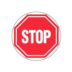 Disque de signalisation d300 402 stop d71 - NOVAP