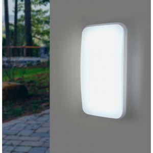 Applique LED Murale 20W Rectangulaire IP65 - couleur eclairage : Blanc Neutre 4000K - 5500K - SILAMP