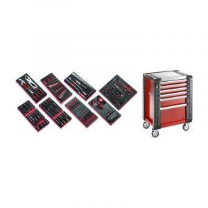 Facom - JET6M3.CMAG Sélection de 135 outils pour la maintenance agricole plus servante 6 tiroirs JET 6 tiroirs