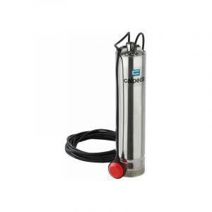 Pompe immergéé Eaux Propre pour puits ou citerne MPS504m CG 0,9kW 1,2Hp 230V avec flotteur monophaséé - Calpeda
