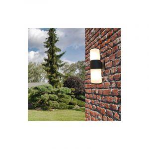 Applique Murale LED IP44 double faisceau E27 Opaque - Silamp