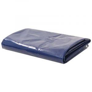 Bâche 650 g / m² 1,5 x 10 m Bleu - VIDAXL