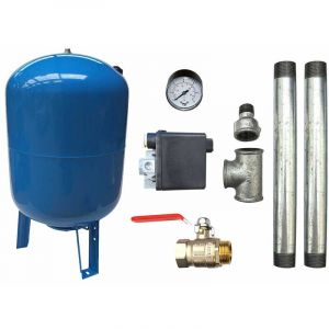 "KIT surpresseur 100L - 1"" - AQUASYSTEM"
