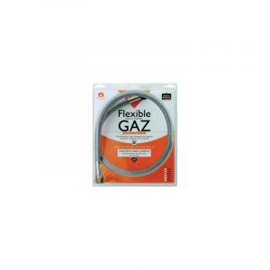 Flexible gaz inox NF à vie Butane Propane 0,75m f20x150 f15x21 - GURTNER