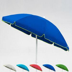 Parasol de plage 2 mètre pour mer et jardin CAPRI   Bleu - BEACHLINE