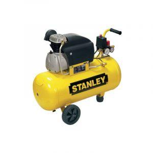 Stanley - Compresseur 50L 8 bar 2CV (Cylindre alu-fonte) - D 210/8/50
